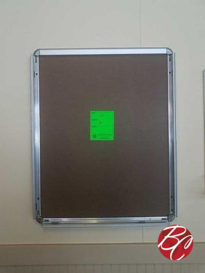 Chrome Frame Bulleting Boards