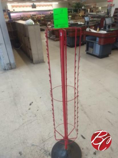 Spinner Clip Rack