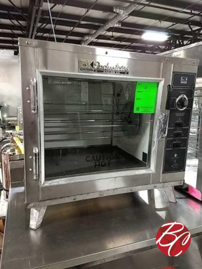 Barbecue King Industries Rotisserie