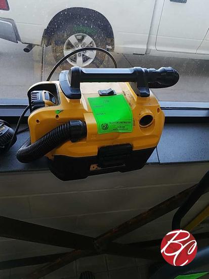Dewalt Heavy Duty Cordless 2 Gal. Shop Vacuum