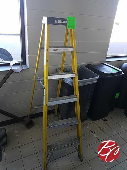 Keller Fiberglass 77 Series Step Ladder 6ft