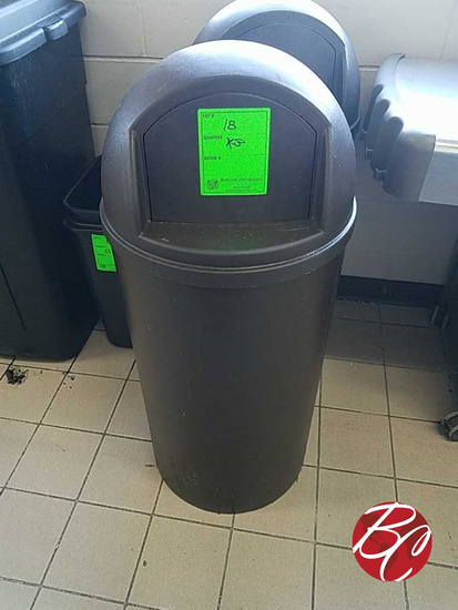 Rubbermaid Bullet Garbage Can's