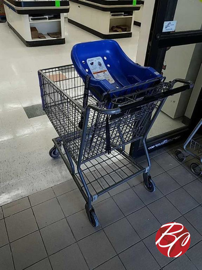 Shopping Carts W/ Baby Seat's