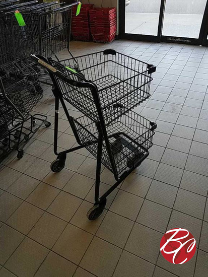 Double Deck Shopping Carts