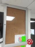 Locking Bulleting Board