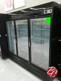 Turbo Air 3-glass Door Freezer M# Tgf-72fb