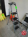 Skinny Mini Step Ladder 4ft