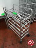 Aluminum Meat Tray Cart