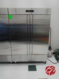 New Fagor Concept Stainless Steel 2-door Freezer