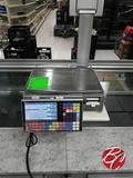 Ishida Touch Screen Deli Scale Printer M# Uni-7