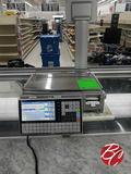 Ishida Touch Screen Deli Scale Printer M#uni-7