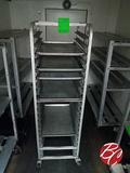 Aluminum Full Size Sheet Pan Cart W/(4) Sheet Pans