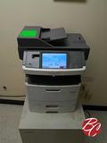 Lexmark Multi Purpose Printer W/ Metal Cabinet