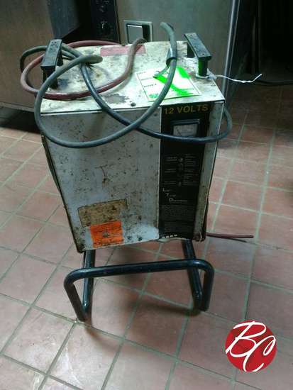 Battery Charger On Stand