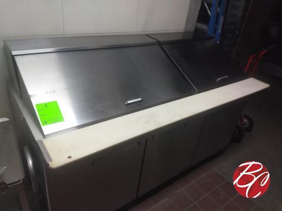 "North American Refrigeration 72"" Prep Table"