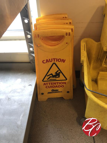 Quickie Professional Caution Signs
