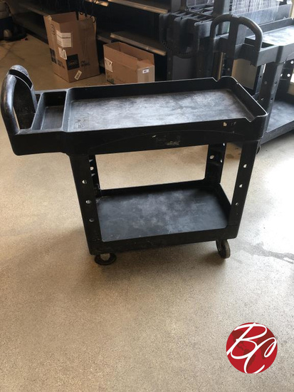 Rubbermaid Two Tier Utility Cart