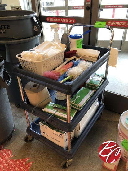 Cleaning Contents Of Cart