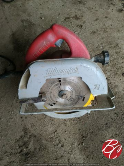 Milwaukee 7 1/4 Inch Circular Saw