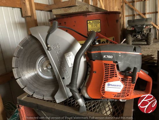 K760 Husqvarna Concrete Saw