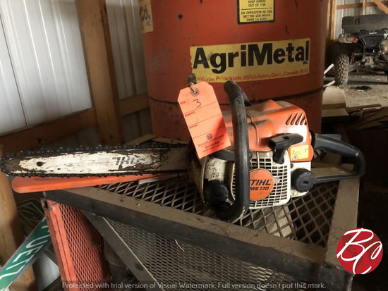 Ms 170 Stihl Chain Saw