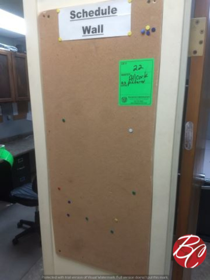 Lot Of Assorted Cork Boards