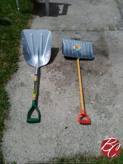 Aluminum Scoop Shovels