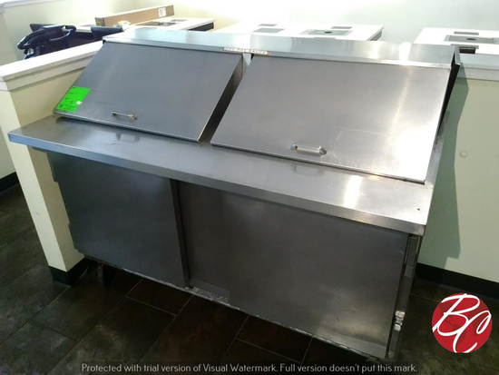 Beverage Air SP60-24M Prep Table on Casters