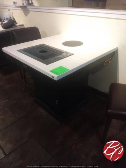 Wei Lin Hot Pot Tables