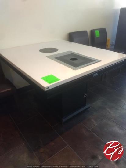 Wei Lin Hot Pot Table