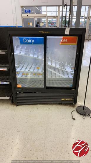 True 2 Door Beverage Cooler