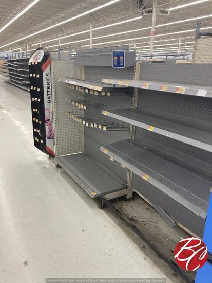Checkout Shelves