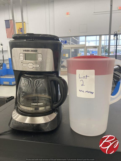 Coffeemate Coffee Maker And Pitcher