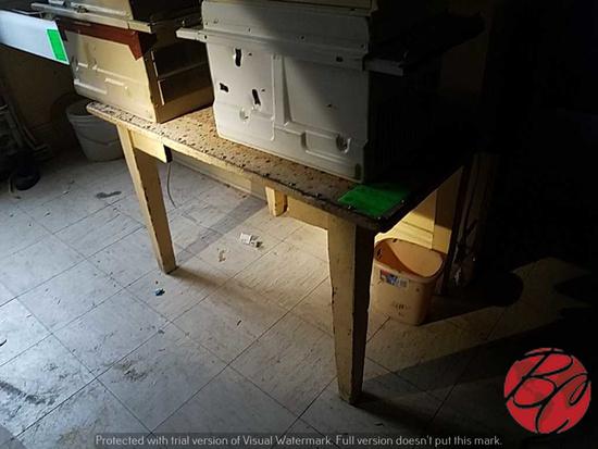 "Wood Desk Cabinet 45""x30""x79"""