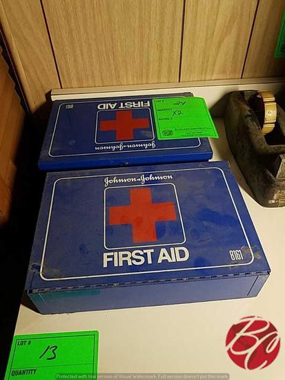Johnson & Johnson First  Aid Cabinet's