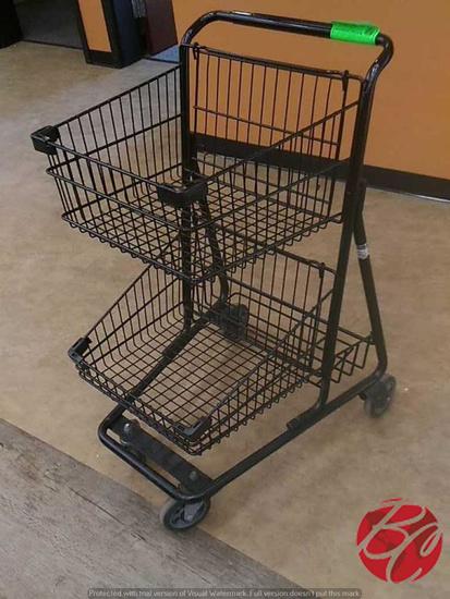 2014 Technibilt Double Basket Shopping Carts