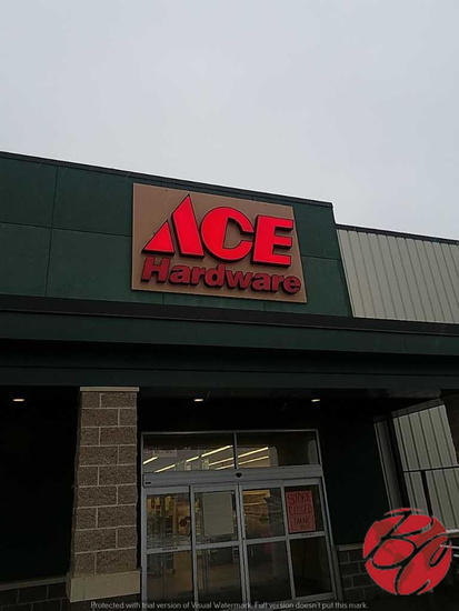 Ace Hardware Sign