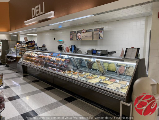 Hussmann Deli Meat Cases Model #RGSDS