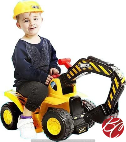 Excavator Toy Truck