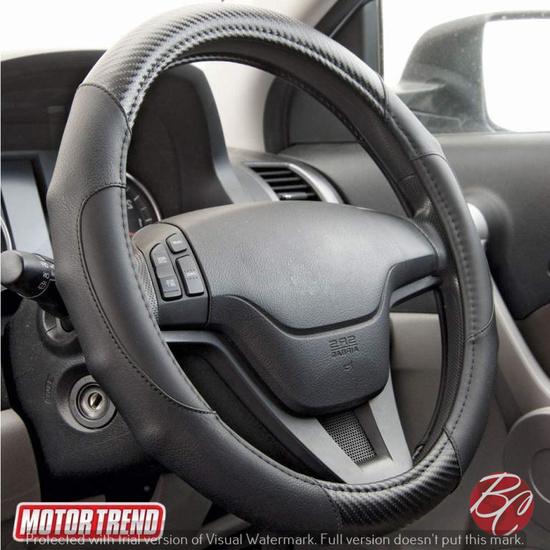 Motor Trend Auto Steering Wheel Cover
