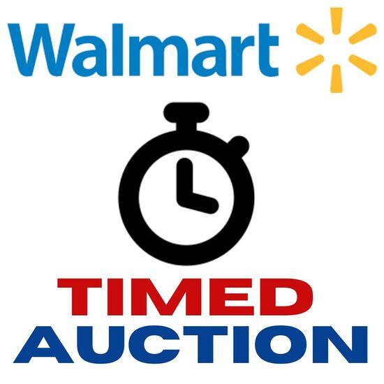 Walmart Timed Auction A1108