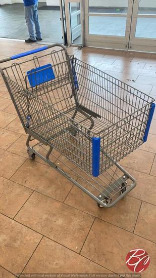 Large Metal Shopping Carts
