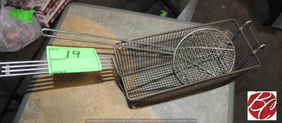 Fryer Basket and Strainer