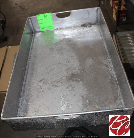 """Stainless Steel Pan Approx 31"""" x 20"""""""