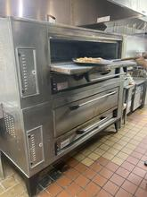 2009 Marsal SD-1060 Stacked, Gas Pizza Oven Double