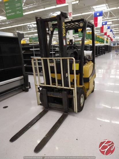 Yale Forklift Model # GLP040SBXNURV084
