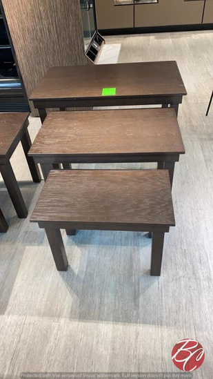 Wood Nesting Tables