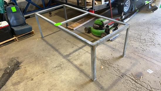 Galvanized Steel Table Frame 82x36