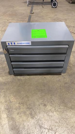 Adrian Steel Lockable Tool Box