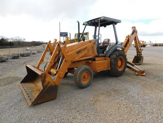 1995 CASE 580SL LOADER BACKHOE